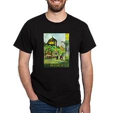 Belgium Travel Poster 1 T-Shirt