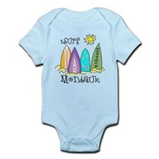 I Surf Montauk Infant Bodysuit