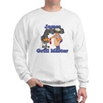 Grill Master James Sweatshirt