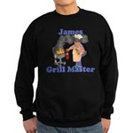 Grill Master James Sweatshirt (dark)