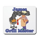 Grill Master James Mousepad
