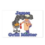 Grill Master James Postcards (Package of 8)