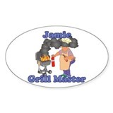 Grill Master Jamie Decal