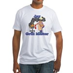 Grill Master Jay Fitted T-Shirt