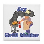 Grill Master Jay Tile Coaster