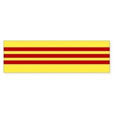 Vietnamese Freedom Flag Bumper Car Sticker