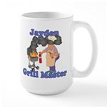 Grill Master Jayden Large Mug