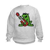 frog and roll Sweatshirt