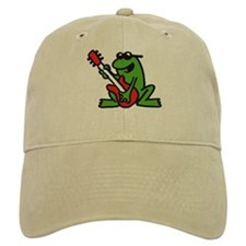 frog and roll Baseball Cap