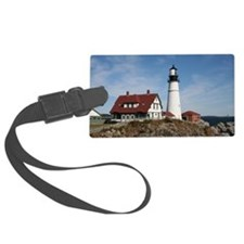 Portland Head Light Luggage Tag