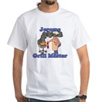 Grill Master Jerome White T-Shirt