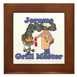 Grill Master Jerome Framed Tile