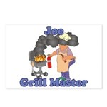 Grill Master Joe Postcards (Package of 8)