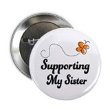 "Support Sister Orange Awareness 2.25"" Button (10 p"
