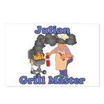Grill Master Julian Postcards (Package of 8)