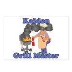 Grill Master Kaiden Postcards (Package of 8)