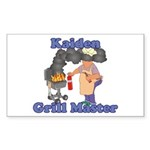Grill Master Kaiden Sticker (Rectangle)