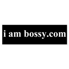 Bossy Bumper Bumper Sticker