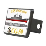 USS Princeton CG-59 Rectangular Hitch Cover