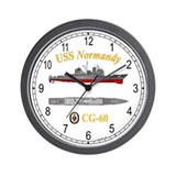 USS Normandy CG-60 Wall Clock