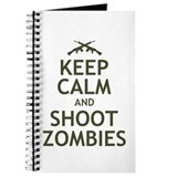 Keep Calm and Shoot Zombies Journal