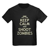 Keep Calm and Shoot Zombies T