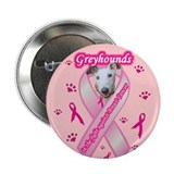 "Greyhound (White) 2.25"" Button (10 pack)"