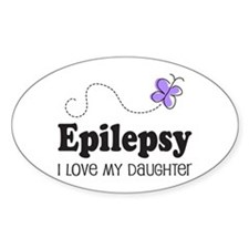 Epilepsy I Love My Daughter Decal