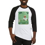 Sock Monkey Martini Bartender Baseball Jersey