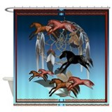 Dream Horses Shower Curtain