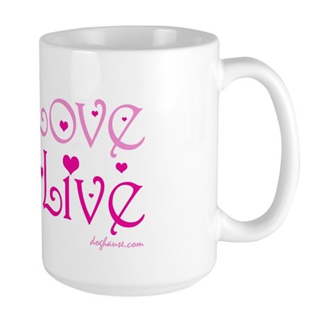 Live to Love Large Mug