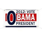 2012: Vote Obama for President Banner