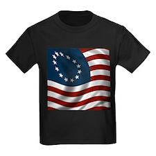 Wavy Betsy Ross Flag T
