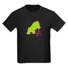 Kids Hippopotenuse Dark T-Shirt