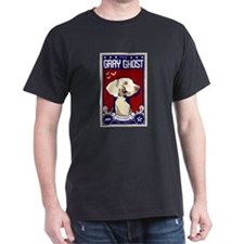 The gray ghost weimaraner propoganda poster T-Shir