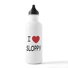 I heart SLOPPY Water Bottle