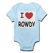 I heart ROWDY Infant Bodysuit