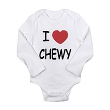 I heart CHEWY Long Sleeve Infant Bodysuit