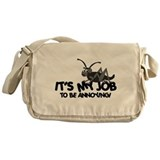 Annoying Cricket Messenger Bag