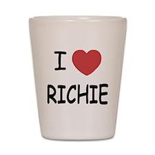 I heart RICHIE Shot Glass