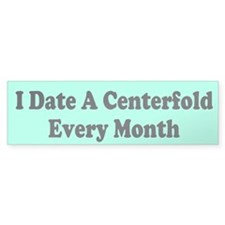 Centerfold Custom Bumper Sticker