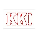 KKI Car Magnet 20 x 12