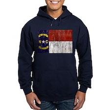 North Carolina Retro Flag Hoodie