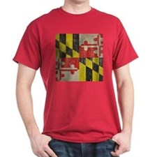 Vintage Maryland Flag T-Shirt