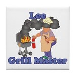 Grill Master Lee Tile Coaster