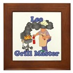 Grill Master Lee Framed Tile