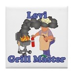Grill Master Levi Tile Coaster