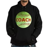 Softball Coach Hoody