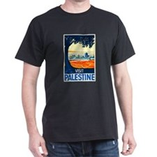 Palestine Travel Poster 1 T-Shirt