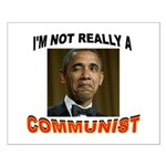 OBAMA COMMUNIST Small Poster